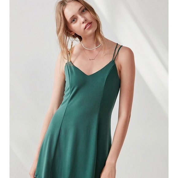 fdf83fdaa2b4 silence + noise Dresses   Urban Outfitters Silence Noise Green Dress ...